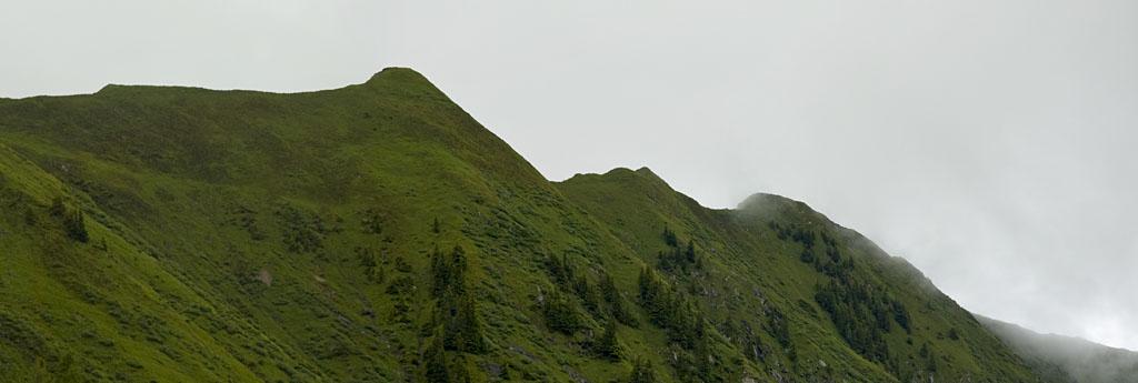 Abstieg vom Alpincenter am Kitzsteinhorn