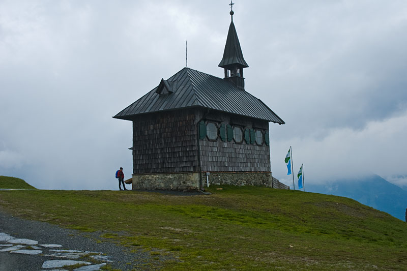 Kirchlein auf der Schmittenhöhe über Zell am See