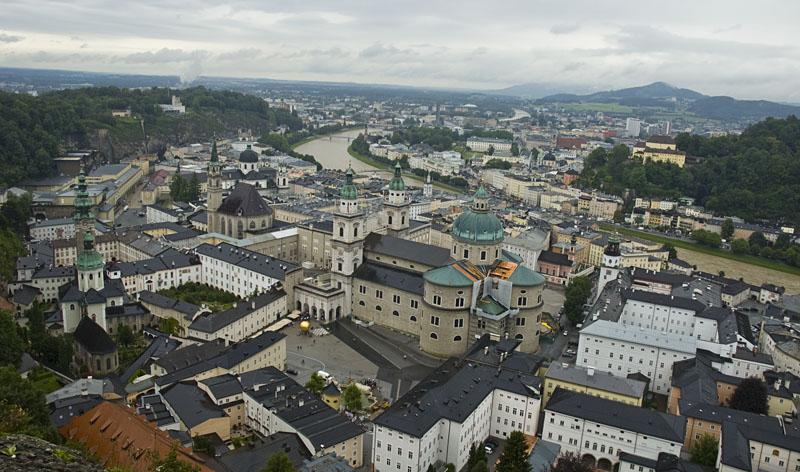 Die Mozart Stadt Salzburg