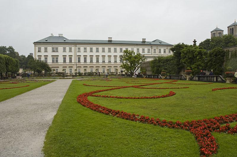 Die Gärten von Schloss Mirabell