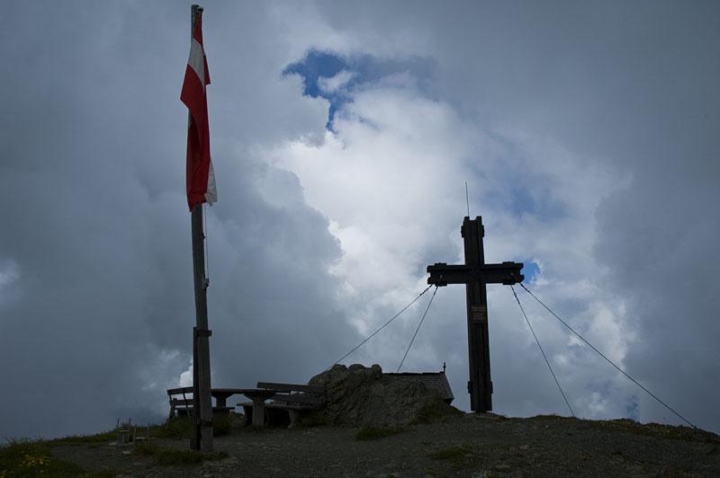 Gipfel des Hundstein