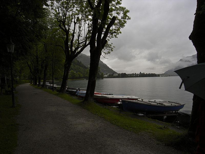 Der Zeller See und sein Rundwanderweg