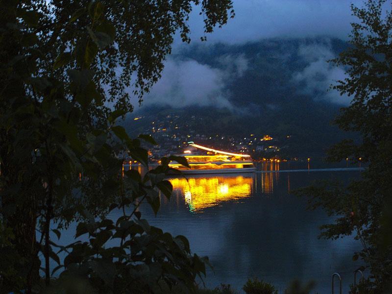 Am Zeller See bei Nacht