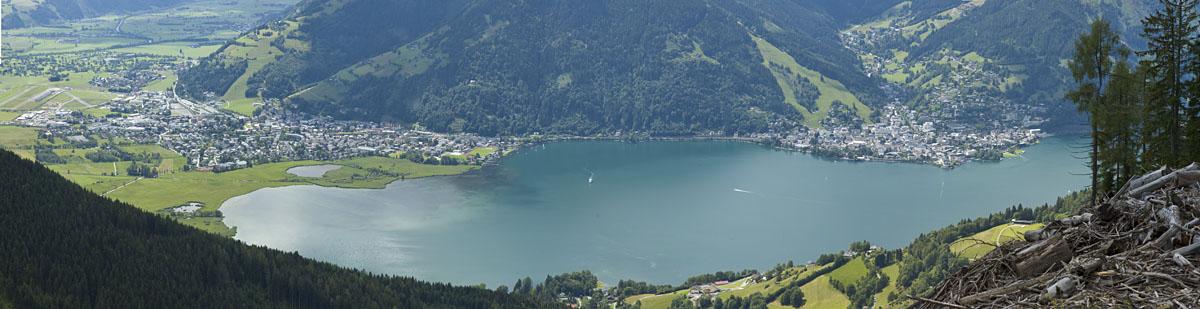 Der Zeller See im Salzburger Land