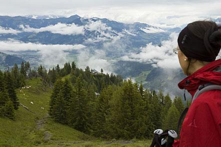 Auf den Weg zum Fuße des Kitzsteinhorns - Aufsteig zur Dreiwaller-Höhe