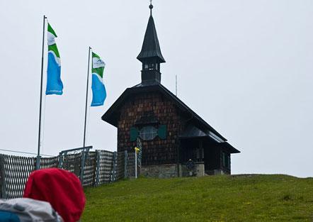 Kirchlein auf der Schmittenhöhe über dem Zeller See