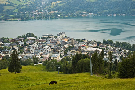 Die Stadt Zell am See