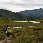 Bergwandern über ausgedehnte Almen in Südtirol