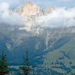 Ausblick bei der Bergtour am Latemar