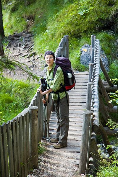 Wanderung von Madonna di Campiglio zu den Vallesina Wasserfällen
