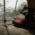 Wandern bei den Vallesina Wasserfällen