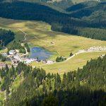 Lavazc Pass von oben