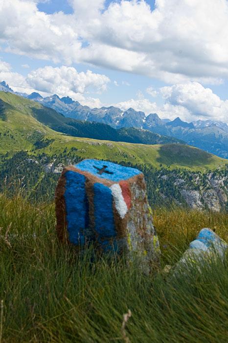 Ausblick vom Zanggen Plateau