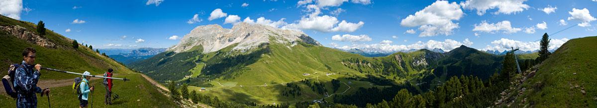 Der Pampeago Pass