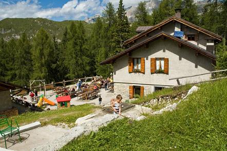 Rifugio (Schutzhütte) Casinei im Brenta Gebirge