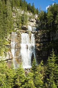 Cascate Medie (die mittleren Wasserfälle)