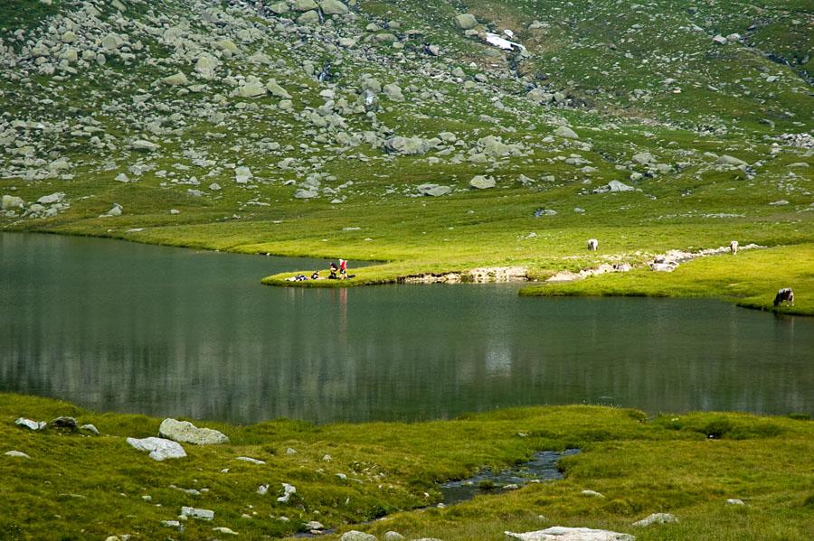 Einer der 10 Spronser Seen