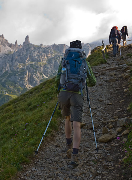 Bergtour im Sellastock