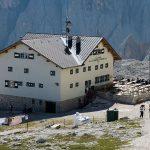 Berggasthaus im Sellastock