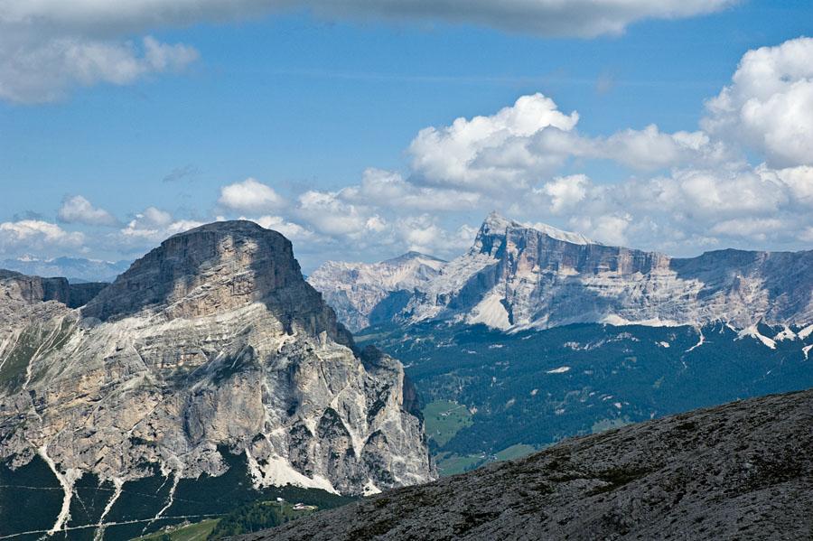 Bergtour in den Dolomiten