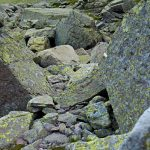 Felsiger Steig im Val Cadino