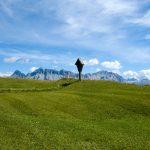 Peitlerwiesen mit Heiligkreuzkofel
