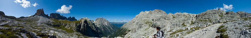 Die Drei Zinnen, eines der Wahrzeichen von Südtirol