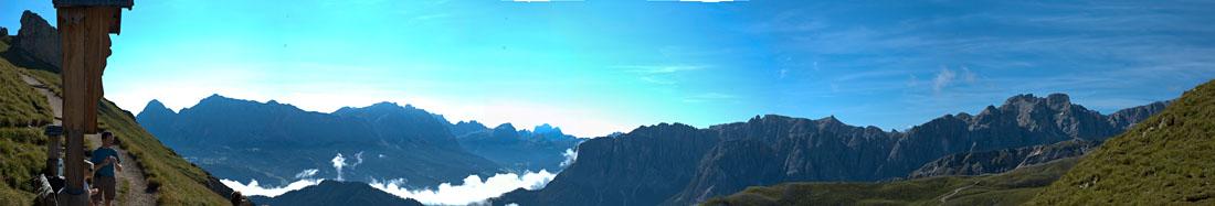 Panorama Peitlerkofel