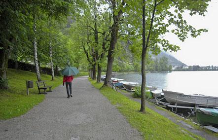 Elisabethpromenade von Schüttdorf nach Zell am See