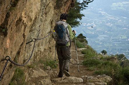 Auf dem Meraner Höhenweg von der Leiteralm nach Hochmut