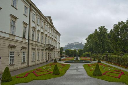 Schloss Mirabell mit Garten