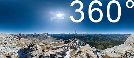 Am Gipfel des Heiligkreuzkofel