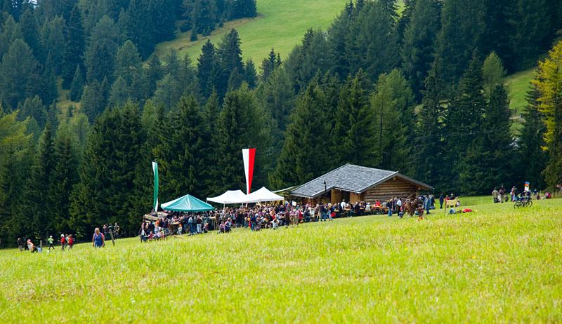 Almfest am Karerpass