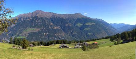 Die Berge des Vinschgau