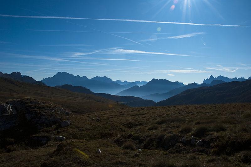 Ausblick vom Alta via Bepi Zac