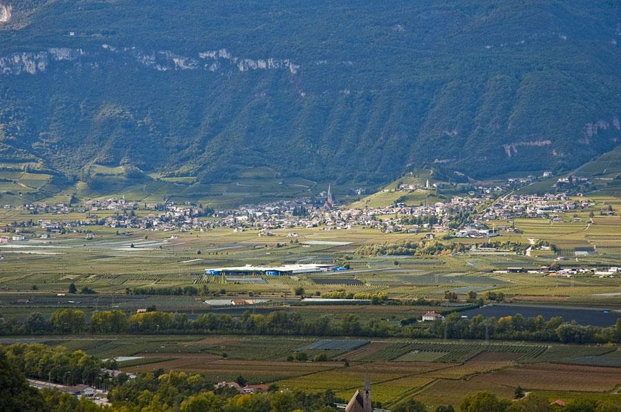 Blick ins Südtiroler Unterland