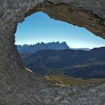 Wandern auf dem Alta via Bepi Zac