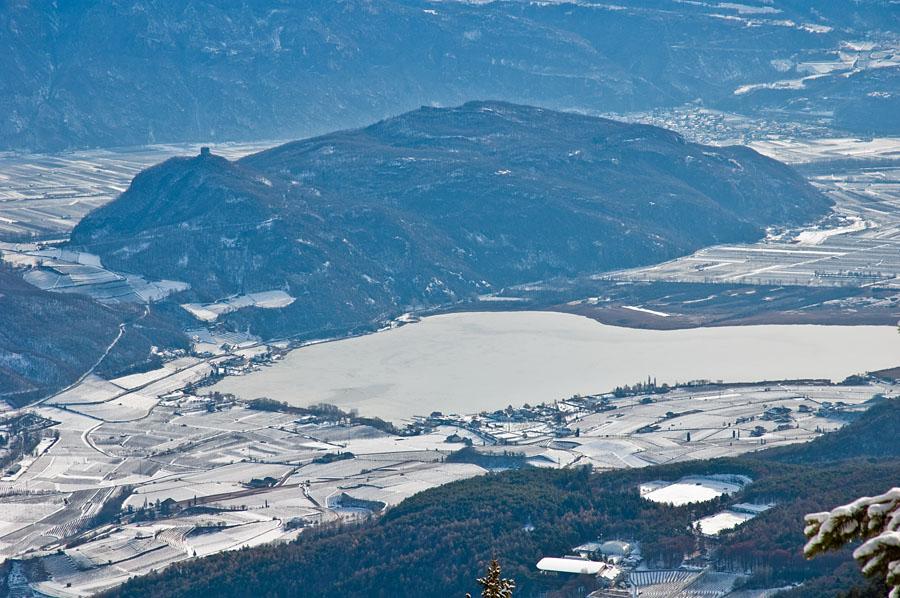 Kalterer See vom Penegal aus