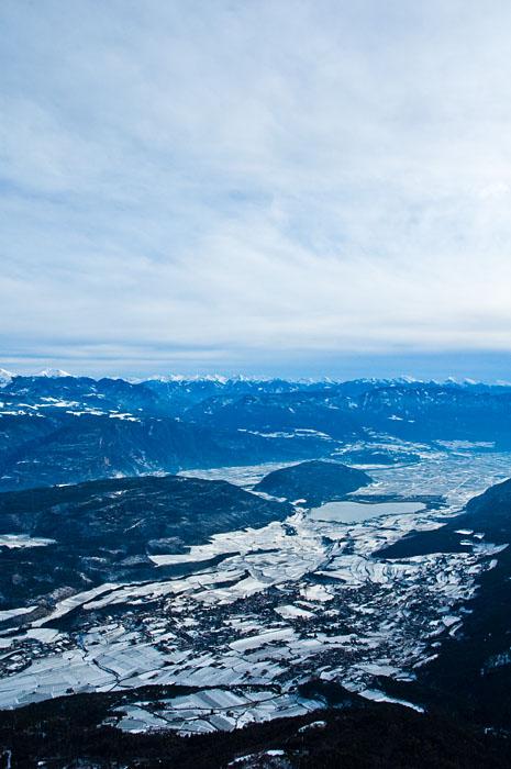 Vom Penegal über Südtirols Süden