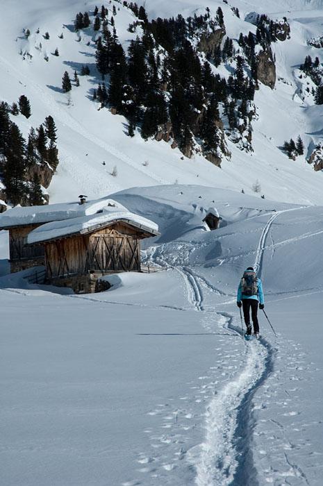 Schneeschuhwandern Traminer Alm