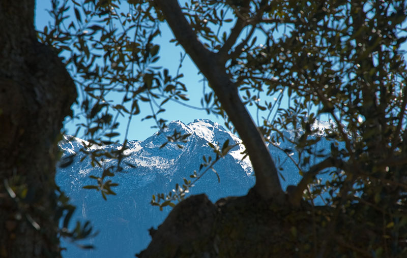 Bergpanorama am Gardasee