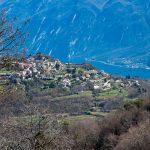 Das Dörfchen Voltino über dem Gardasee