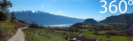 Hochebene von Tremosine kurz vor der Bocca di Nevese