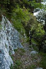 Abstieg zum Valle dei Laghi