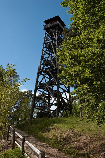 Aussichtsturm Kohlern oberhalb von Bozen