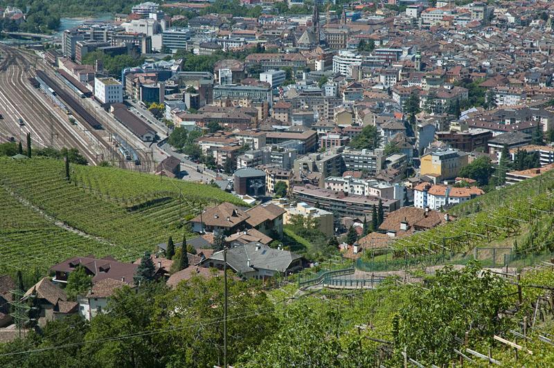 Südtirols Landeshauptstadt Bozen