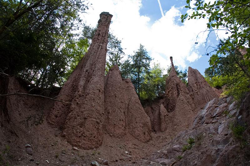 Wanderung zu den Erdpyramiden im Katzbachtal