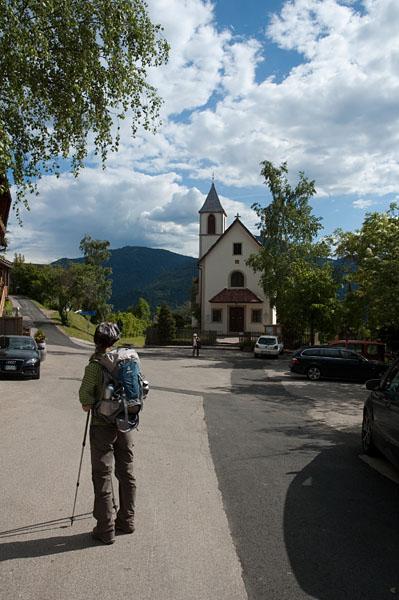 Wandern oberhalb von Bozen