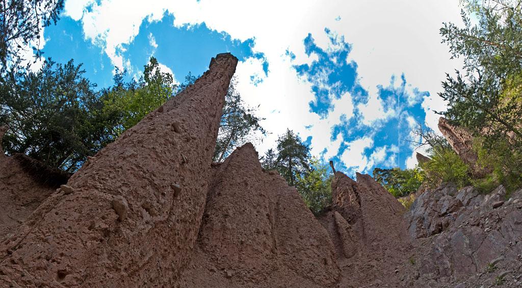 Erdpyramiden im Katzbachtal