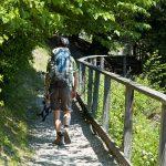 Wanderweg am Lago Toblino